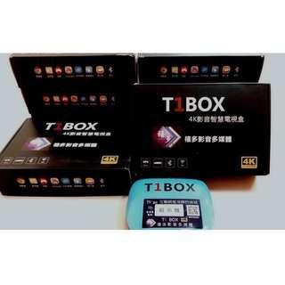 T1 BOX 4K影音智慧電視盒