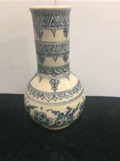 舊靑花花瓶
