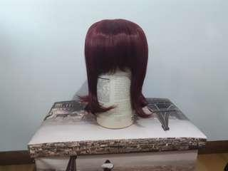 URGENT CLEARANCE Maroon Red Cosplay Wig