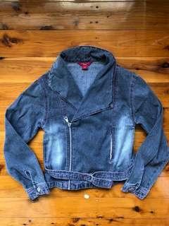 Guess? Biker's denim jacket
