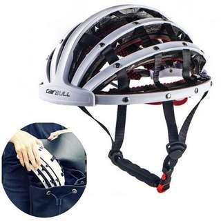 CAIRBULL New Design Folding Cycling Helmet Ultralight Bike Casual Helmets Portable Road City Bicycle
