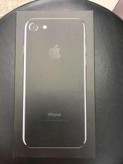 售二手iphone7(128g)曜石黑