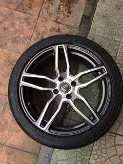 Sport Rim 17 LENSO with Tyre