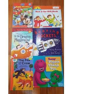 Early Reader story books