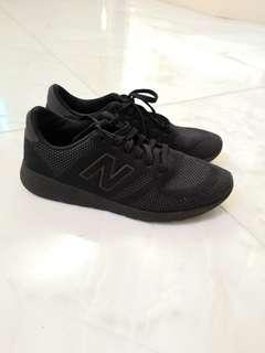 New Balance 9.5 All Black Sneakers