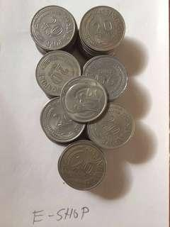 Old Coins Singapore (70 pcs)