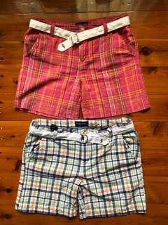 Ralph Lauren girl's collegiate shorts