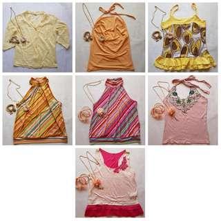 Buy 3 @ RM15 Assorted Brand New Tops #bundlesforyou