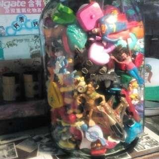 koleksi Macdonalds toys