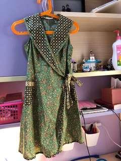 Batik Keris dress anak