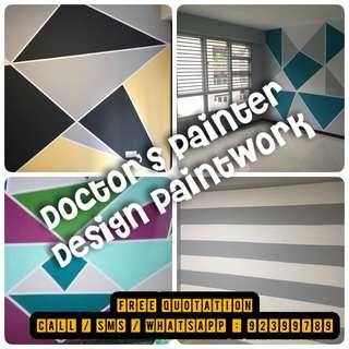 Professional Painting Services! Free quotation ! One day completion