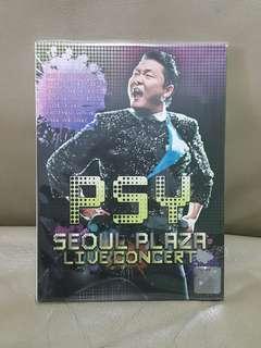 DVD kpop PSY Seoul Plaza Live Concert