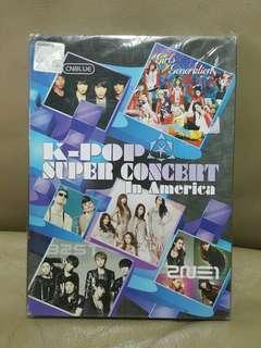 DVD K-pop Super Concert in America