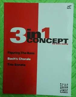 3 in 1 Concept based on the ABRSM theory of music syllabus