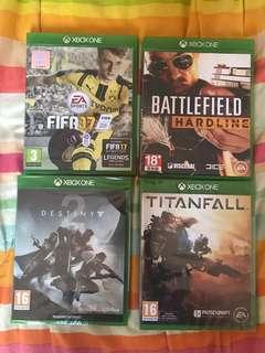 Xbox One x game titles