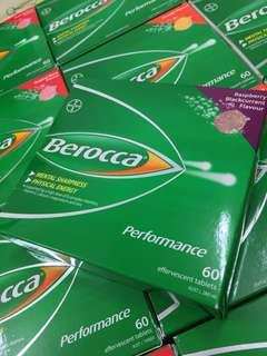 Berocca Australia 60 Tablets All Flavours