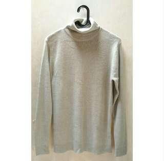 Sweater Rajut Turtle Neck
