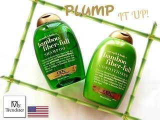 🆕️ OGX Bamboo Fibre Full Shampoo & Conditioner Set #bundlesforyou