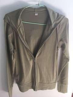 parka green uniqlo jacket
