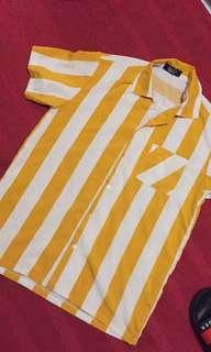 Stripes yellow shirts
