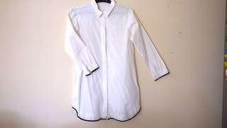 Cotton ink shirt dress size M
