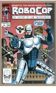 Robocop #1 (1990 1st Series) TRIPLE-Signed By Writer Alan Grant, Artist Lee Sullivan & Inker Steve White, With C.O.A! All-Out Robo-Hotness!
