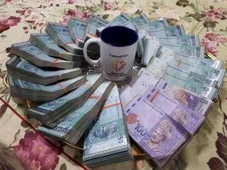 Buit duit . Nak kaya ? Nak senang? Bisnes simple xperlu cari org. Simpanan dan keuntungan 100 hari
