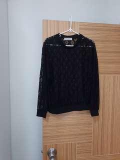 韓國新款靚料lace 上衫, 百搭易襯