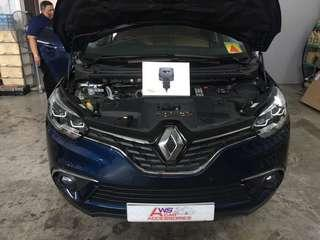 Renault Scenic👉2018 Installed Race Chip GTS Upgrade for Performance Vehicles (Plug N Play
