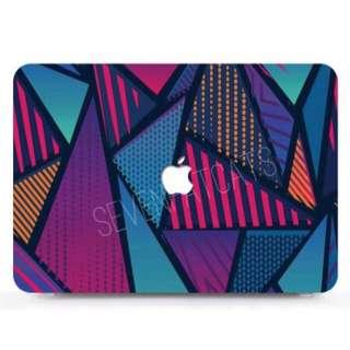 Psychedelic Geometric Macbook Cover