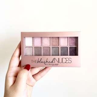 MAYBELLINE THE BLUSHED NUDES EYESHADOW PALETTES