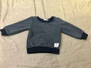 🚚 舖棉條紋休閒衣