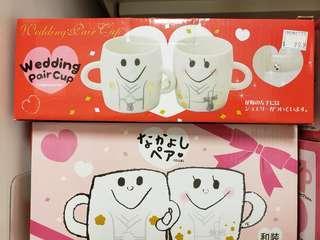 和裝對杯 なかよしペア Wedding pair cup 結婚禮物