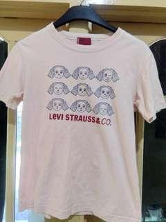 Kaos cute levy strauss& co