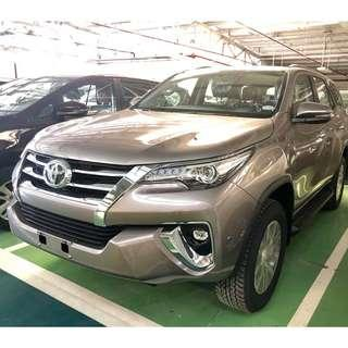 2018 Toyota Fortuner 2.4 G Diesel 4x2 M/T, with Low Downpayment and Monthly Installment, Toyota San Jose del Monte, Bulacan - P 33,447 monthly for 5 years
