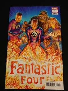 Fantastic Four #1 Alex Ross Variant Cover