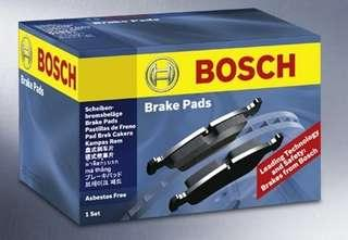 Bosch brake pad Accord 94-96 Front clearance