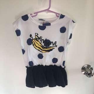 女童Tee shirt裙