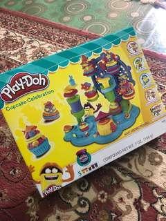 Cupcake celebration playdoh