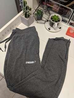Gymshark Grey track pants trackies