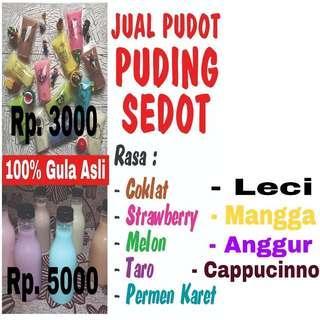 Jual PUDOT (puding sedot)