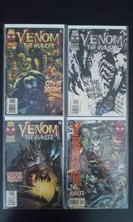 Venom : The Hunger #1,#2,#3,#4 (1996) Complete Set Of 4, All Venom, All Madness!