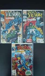 Venom : The Mace #1,#2,#3, (1994) Complete Set Of 3, All Venom, All Madness! HOT Set!
