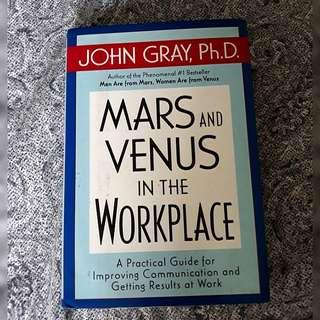 Hardbound Mars and Venus in the Workplace