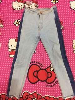 Highwaisted Light Jeans