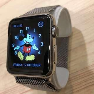 Apple Watch Stainless Steel MY SET 38MM
