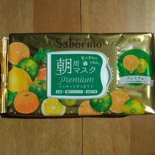 🚚 降價囉一包450兩包免運🍊全新現貨*2 日本 Saborino 早安面膜(蜜柑)🍊