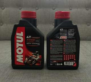 MOTUL 7100 10W60 4T 1L 100% Synthetic Ester