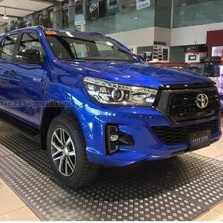 2018 Toyota Hilux 4x2 J MT, with Low Downpayment and Monthly Installment, Toyota San Jose del Monte, Bulacan - P 19,412 monthly for 5 years
