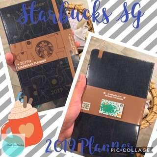 Starbucks Singapore 2019 Planner